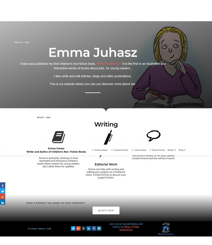 Emma Juhasz website