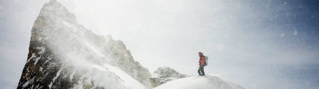 Alpine mountaineering