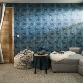 Chalet style decor